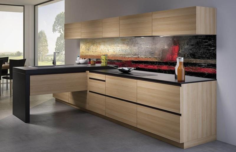cr dences pixpano aluminium composite ou verre de synth se cuisines laurent. Black Bedroom Furniture Sets. Home Design Ideas